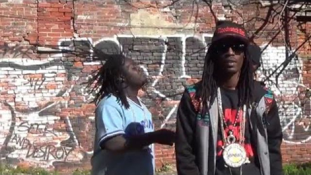 ALL OR NOTHING MIXTAPE/ HEAVEN FOR A SHARK/ GREEDY BLACK BLAKE DA BURNER UZI SPITZ ( official video)