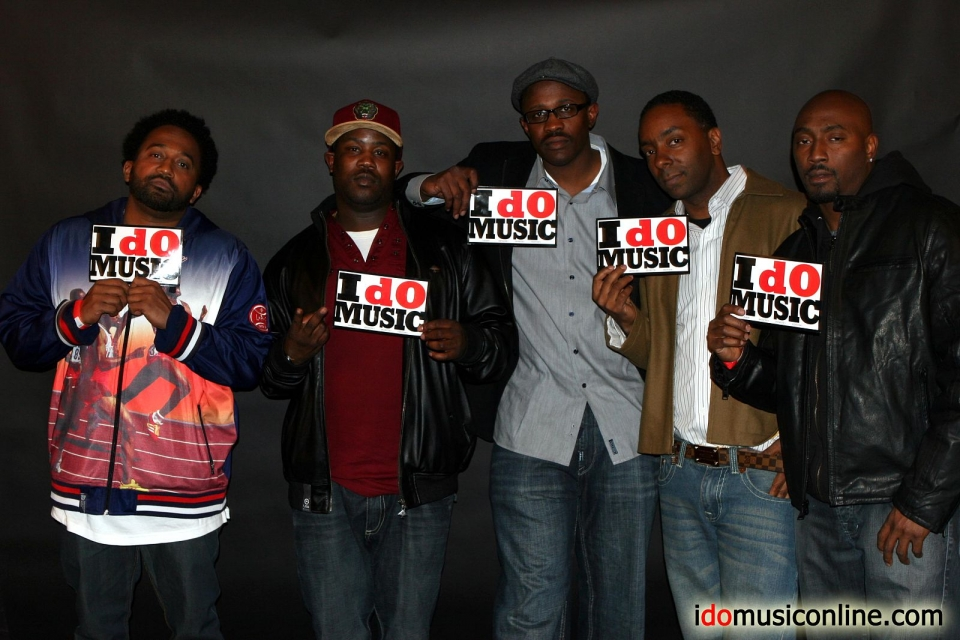 (from left to right)Dj Rasta Root, Kay Woods, Mel Carter, Alan Floyd, Clay Evans