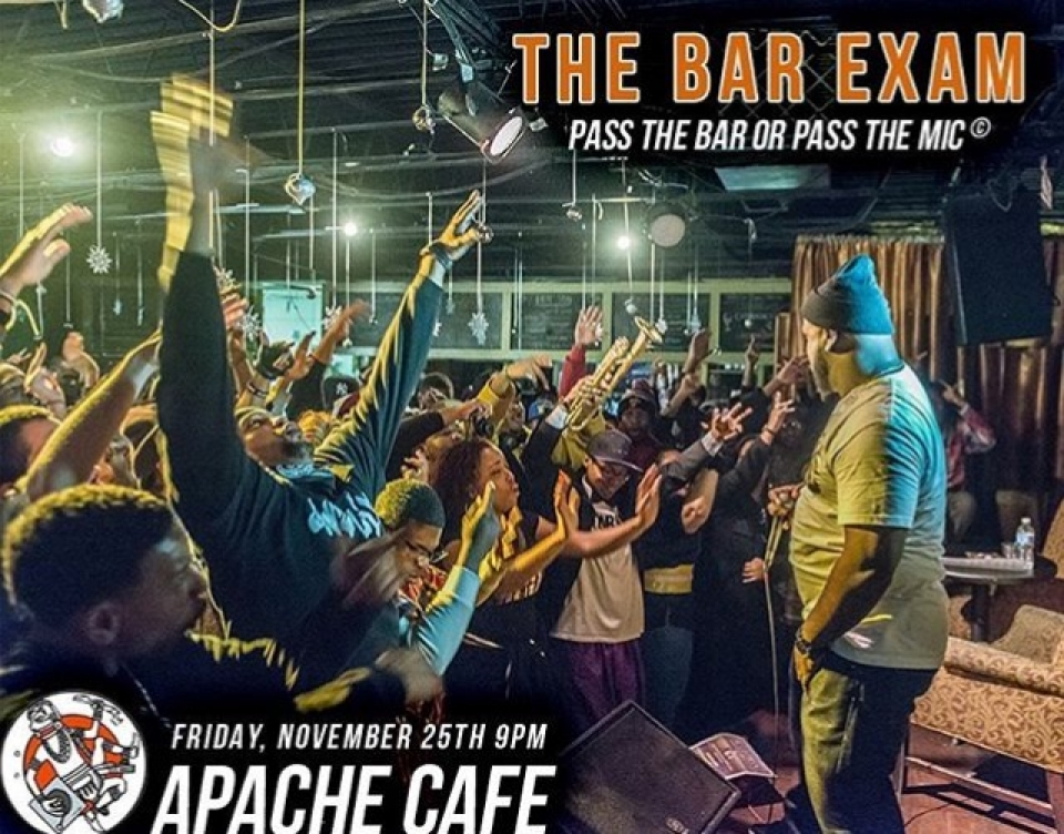 ATL EVENTS: The Bar Exam @ Apache Cafe!!!