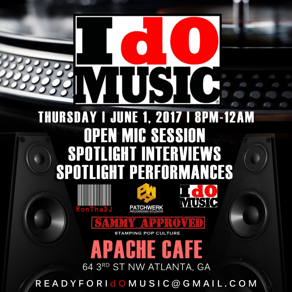 Active Musicians In ATL Know IdOMUSIC Is Tonight!