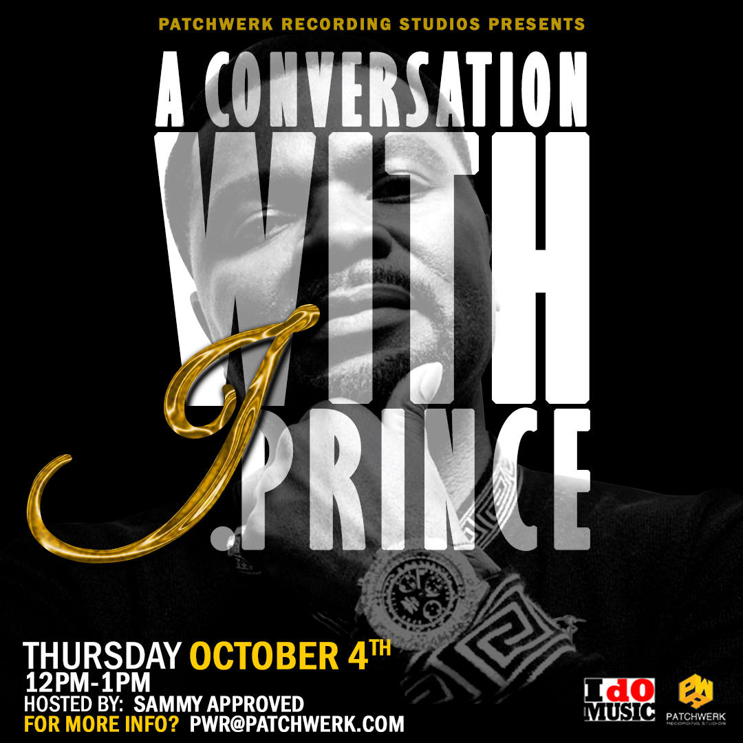 Patchwerk Presents: A Conversation With J.Prince