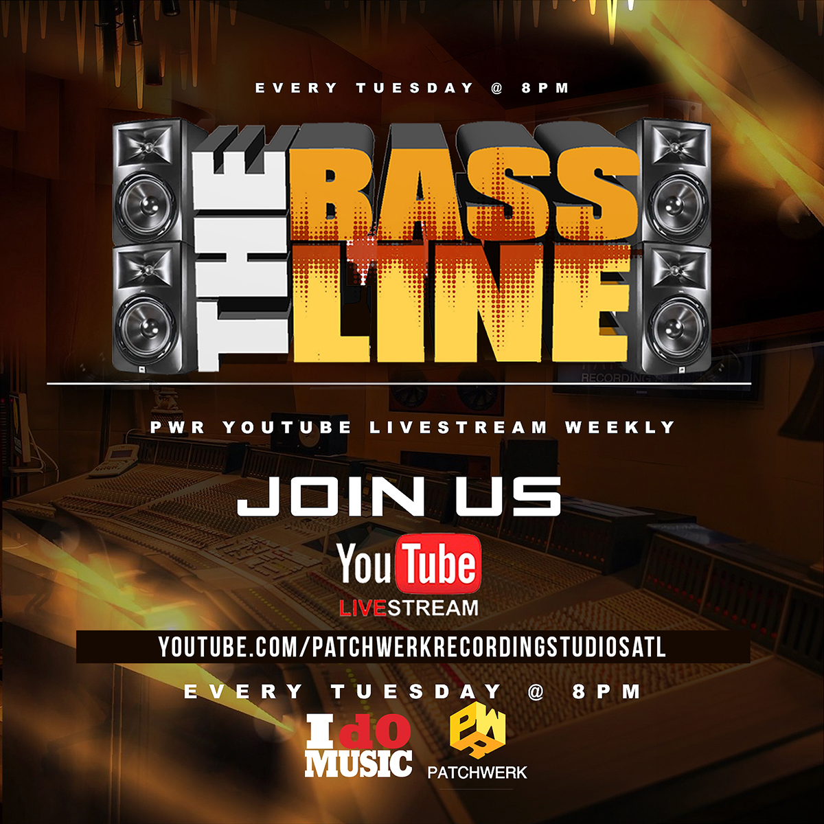 Patchwerk Presents: The Bassline 5/14/19