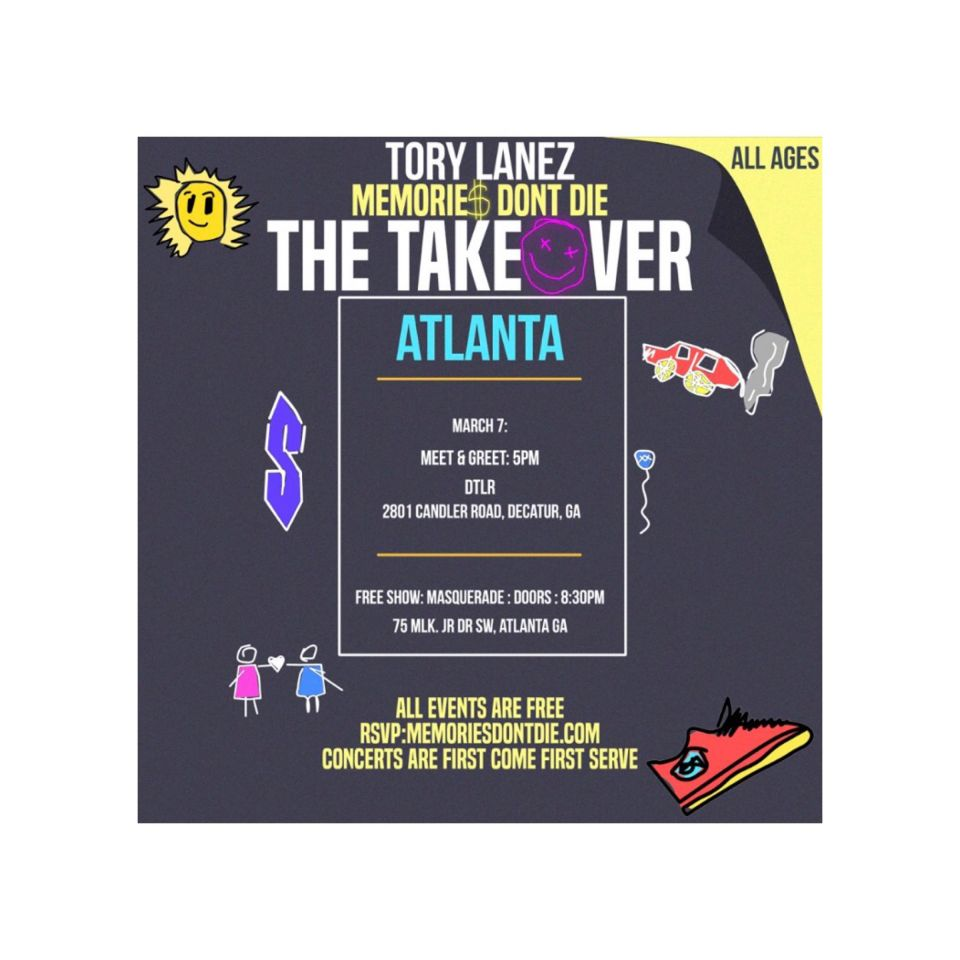 EVENT ALERT! Atlanta GAFree EVENT ALERT March 7th IN Atlanta Ga??? @torylanez ⠀⠀⠀⠀⠀⠀⠀⠀⠀⠀⠀⠀⠀ ⠀⠀⠀⠀⠀⠀⠀⠀⠀⠀⠀ ⠀⠀⠀ ⠀⠀⠀⠀⠀⠀⠀⠀⠀⠀⠀⠀⠀⠀⠀⠀⠀⠀⠀⠀⠀ ⠀⠀⠀⠀⠀⠀⠀⠀⠀⠀⠀ ? #torylanez #the6 #6 #canada #torontorappers #torontobloggers #memoriesdontdie #tlanez #?? #newmusic