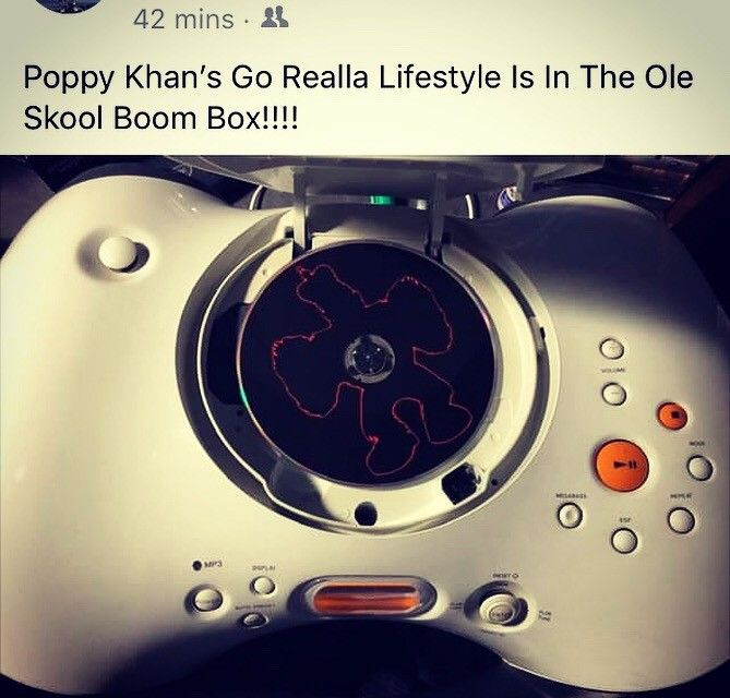 "Poppy Khan's new EP ""Go Realla Lifestyle"" available now! Download it or order a hard copy today at: www.heavygame.biz - #poppykhan #goreallalifestyle #heavygamebiz #indielife"