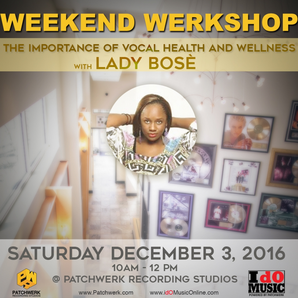 Weekend Werkshop: The Importance Of Vocal Health And Wellness