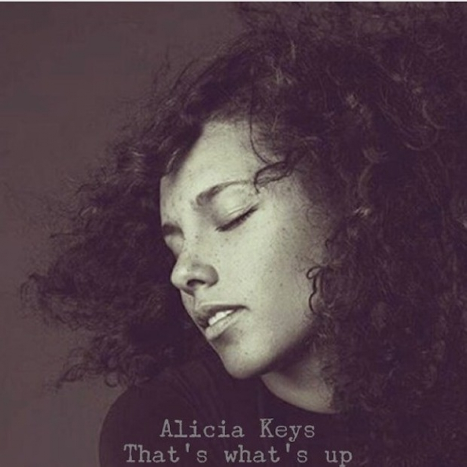 New Music: Alicia Keys-That's Whats Up
