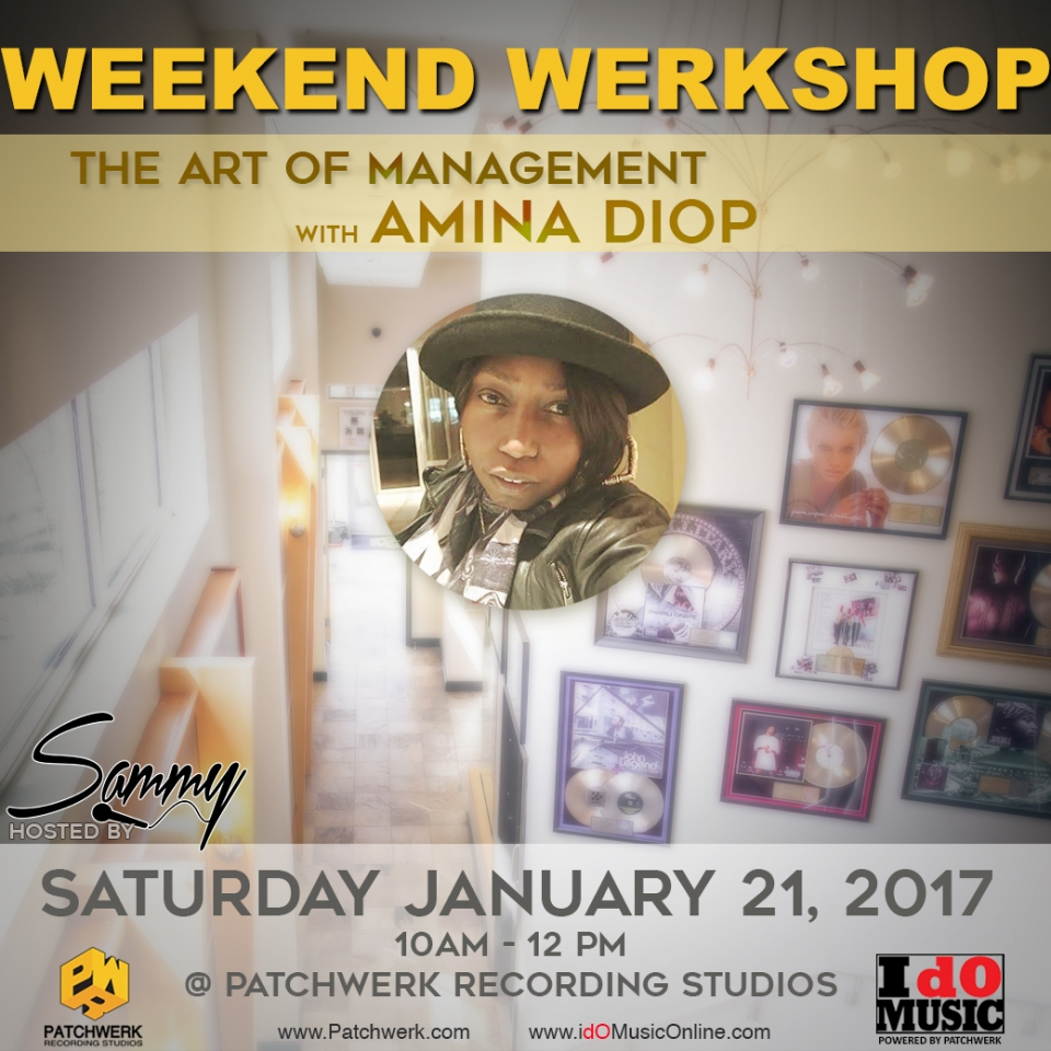 Weekend Werkshop: The Art of Management w/Amina Diop